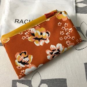 rachel pally floral clutch bag